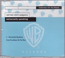 Red Hot Chili Peppers-Universelly Speaking Promo cd single
