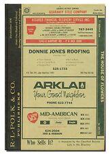 1990 Hot Springs Arkansas City Directory by R.L. Polk  W13