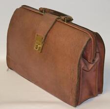 Vintage Leather Doctors Medical Bag - FREE Postage [PL1932 ]