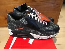 new product c5b5c 0e393 2014 Nike Air Max 90 Premium Atmos Tiger Camo Black Grey 3M size 10