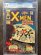 X-MEN #37 CGC NM- 9.2; OW-W; 1st app. Mutant Master!