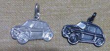 FIAT **500** Ciondolo in argento Brunito 925