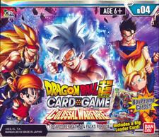 Nuevo Sellado Dragon Ball Super Colossal Warfare 4 Caja del aumentador de presión Series
