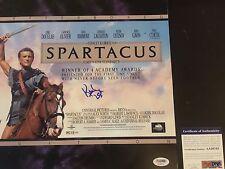 Kirk Douglas Signed Spartacus Laserdisc Cover PSA/DNA COA very rare legend