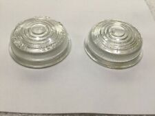 Lucas 488 clear lens pair, Austin-Healey 100, early LandRover, Nash Metropolitan