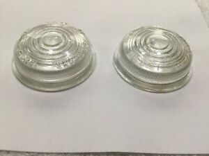 Lucas 488 clear lens pair, Austin-Healey 100, early LandRover, Nash Metropolitan