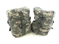 Set of 2 USGI MOLLE II Sustainment Pouches for Army ACU Military Rucksack