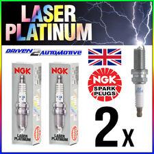 2x NGK BKR7EQUP 4285 LASER PLATINUM SPARK PLUG PORSCHE BOXSTER (987) 2.7 07.06-