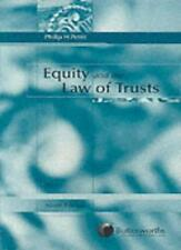 Equity and the Law of Trusts,Philip H. Pettit