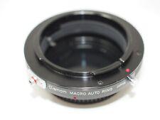 Canon Macro Auto Ring for FD Lenses