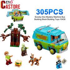 Scooby Doo Mystery Machine Bus Building Block Building Toys 305PCS #10430