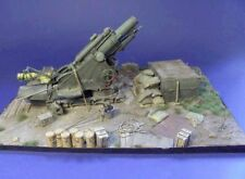 """Resicast 1/35 British BL 9.2-inch Howitzer WWI Diorama Base (10½"""" x 8½"""") GBS013"""