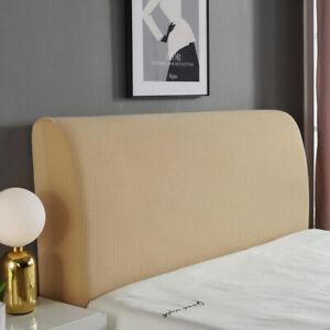 Stretch Jacquard Headboard Slipcover Dustproof Elastic Bed Head Protector Cover