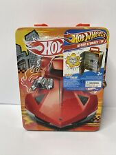 Hot Wheels Tin Plate Carry Storage Tin , Suits 18 DieCast Cars - New & Sealed.