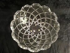 BEAUTIFUL RIEDEL ROUND CRYSTAL BOWL MODERN ART GLASS RARE BOWL SIGNED