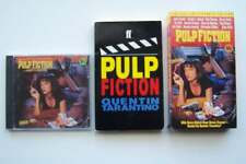 Pulp Fiction Lot - Book Movie & Soundtrack