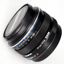 Near MINT Olympus M.zuiko 17mm F/1.8 for Micro 4/3 Black - 1 Year