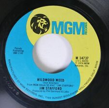 Pop 45 Jim Stafford - Wildwood Weed / The Last Chant On Mgm