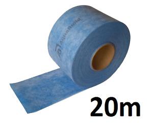 Waterproof Tanking Tape indoor / outdoor AQUA BUILD Wet Room System Shower 20M