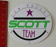 Autocollant/sticker: SCOTT Team-Sun Valley USA (0502171)