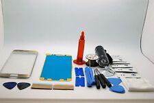Samsung S6 Edge Oro Kit di Riparazione Vetro Schermo Frontale, Colla Torcia