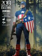 Hot Toys MMS205 First Avenger Captain America Star Spangled Man *Loose*