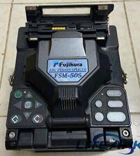 Fujikura FSM-50S Fiber Fusion Splicer FTTH