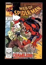 Web of Spider-Man US MARVEL VOL 1 # 54/'89