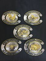 Western Rodeo HorseShoe Cownboy/Rooster/Bull/Scorpion/Running Horse Belt Buckle