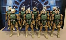 Star Wars ROTS Super Articulated AT RT Driver Lot of 9 Loose Army Builder