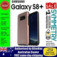 OtterBox Symmetry Samsung Galaxy S8+ Metallic Pink Gold Tough Strong Case Cover