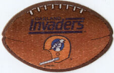 "1983-85 OAKLAND INVADERS USFL FOOTBALL 4"" TEAM PATCH"