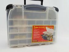 2-Sided Double Cover Blue Tackle Box 3952 Tackle Logic