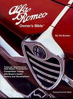 ALFA ROMEO BIBLE OWNERS BRADEN MANUAL BOOK SPIDER GTV