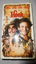 Hook movie on VHS with Dustin Hoffman, Robin Williams and Julia Roberts