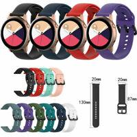 Silikon Armband Uhrenarmbänder Strap für Samsung Galaxy Watch Active SM-R500 L/S