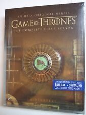 Game of Thrones: The Complete First Season, Steelbook (Blue-Ray, Digital, 2015)