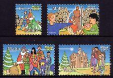 Malta 2000 Christmas Complete Set SG 1190 - 1194 Unmounted Mint