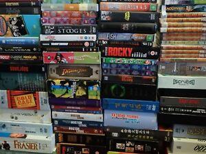 DVD Box Set Bulk Lot Assorted Titles/Genres Various Regions FREE POST Boxset