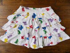 Hanna Andersson White Ruffle Skirt Butterflies Size 150