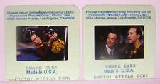 2 1997 Snake Eyes Movie 35mm Slides Nicolas Cage Gary Sinise Attila Dory Photos2