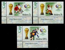 Fußball. WM-2006, Deutschland. 3W. Eckrand (3). Moldawien 2006