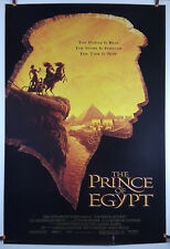 The Prince of Egypt 1998 Original Movie Poster 27x40 Rolled, Double-Sided