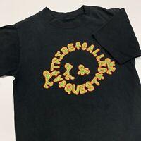 A Tribe Called Quest T Shirt Adult M Black Reprint Rap Music Hip Hop Retro