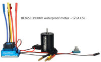 RC 1:10 Car BL3650 Waterproof Brushless Motor & 45A 120A ESC / Program Card Set
