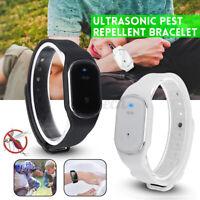 Ultrasonic Anti Moustique Insecte Nuisibles Bugs Répulsif Repoussant Bracelet