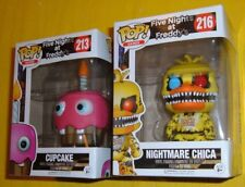 CUPCAKE 213 NIGHTMARE CHICA 216 FIVE NIGHTS AT FREDDY'S FUNKO COLLECTIBLE FIGURE