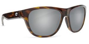 Costa Del Mar Bayside Polarized Sunglasses - Tortoise/Silver Mirror Gray 580P