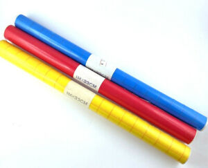 3 Rollen Transparente farbige Folie 3 Farben Selbstklebend 100x34cm günstig