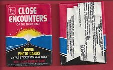 1978 Topps Close Encounters Of The Third Kind Single Unopened Wax Pack